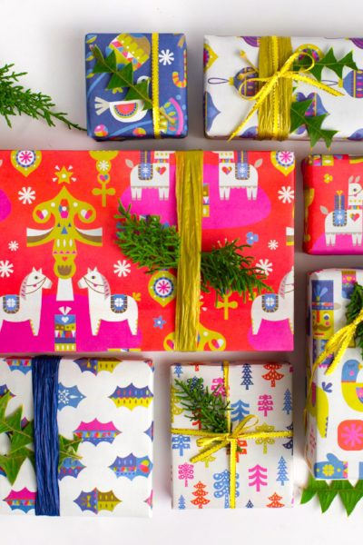 HOLIDAY GIFT WRAP THAT YOU WON'T BELIEVE IS SUSTAINABLE