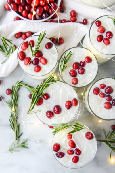 THE MOST FESTIVE COCKTAILS TO IMPRESS YOUR FRIENDS + FAMILY THIS HOLIDAY SEASON